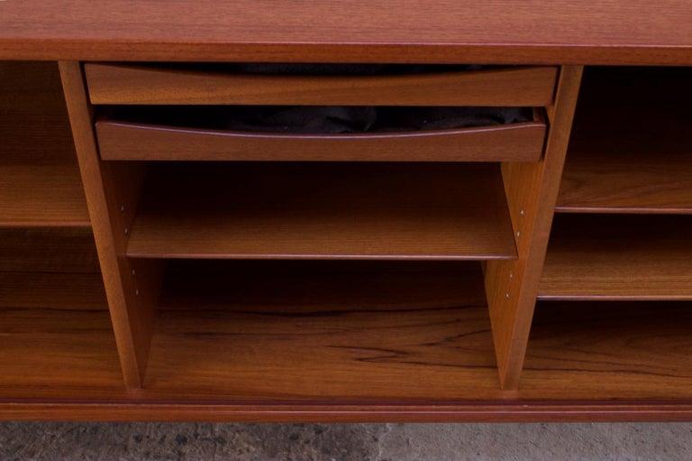 Arne Vodder for Sibast Tambour-Door Teak Credenza Model 37 For Sale 12