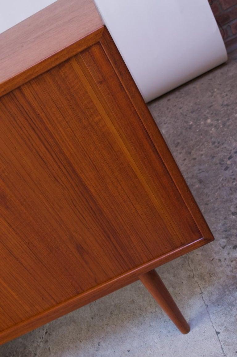 Arne Vodder for Sibast Tambour-Door Teak Credenza Model 37 For Sale 10