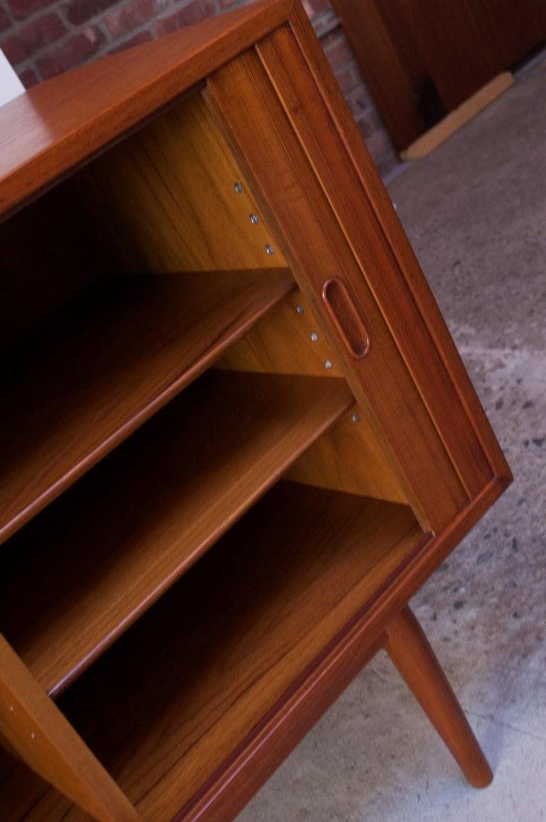 Arne Vodder for Sibast Tambour-Door Teak Credenza Model 37 For Sale 11