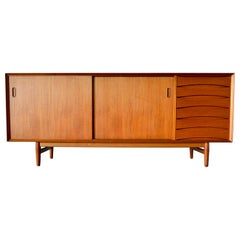 Arne Vodder for Sibast Teak Model 29 Credenza, circa 1960