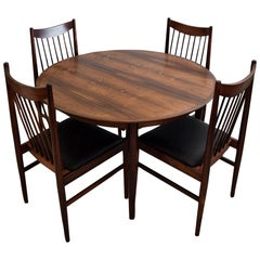 Arne Vodder Mid-Century Modern Dining Room Set