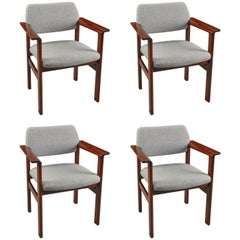 Arne Vodder Model 426 Rosewood Armchairs