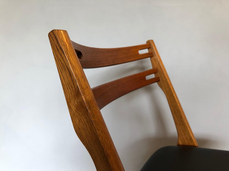 20th Century Arne Vodder Oak Dining Chairs, Sibast, Set of 6 For Sale