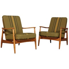 Arne Vodder, Pair of Lounge Chairs
