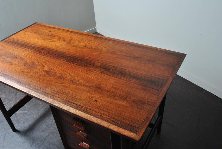 Arne Vodder Rosewood Desk, Sibast 4