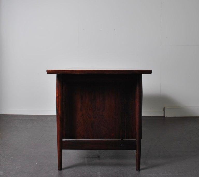 Arne Vodder Rosewood Desk, Sibast 2