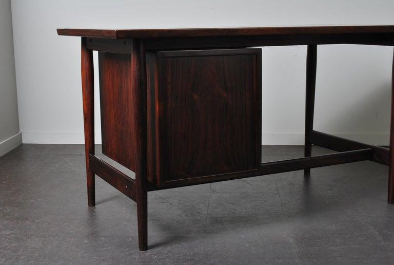 Arne Vodder Rosewood Desk, Sibast 3