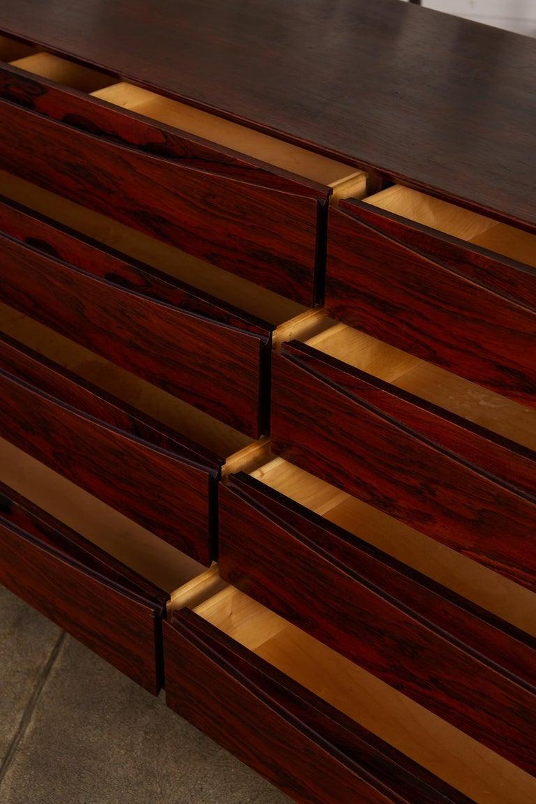 Arne Vodder Rosewood Dresser for Sibast Møbler For Sale 6