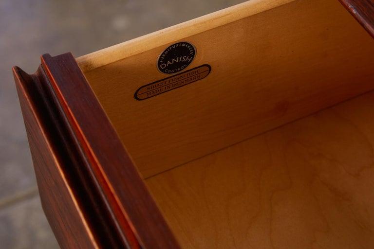 Arne Vodder Rosewood Dresser for Sibast Møbler For Sale 8