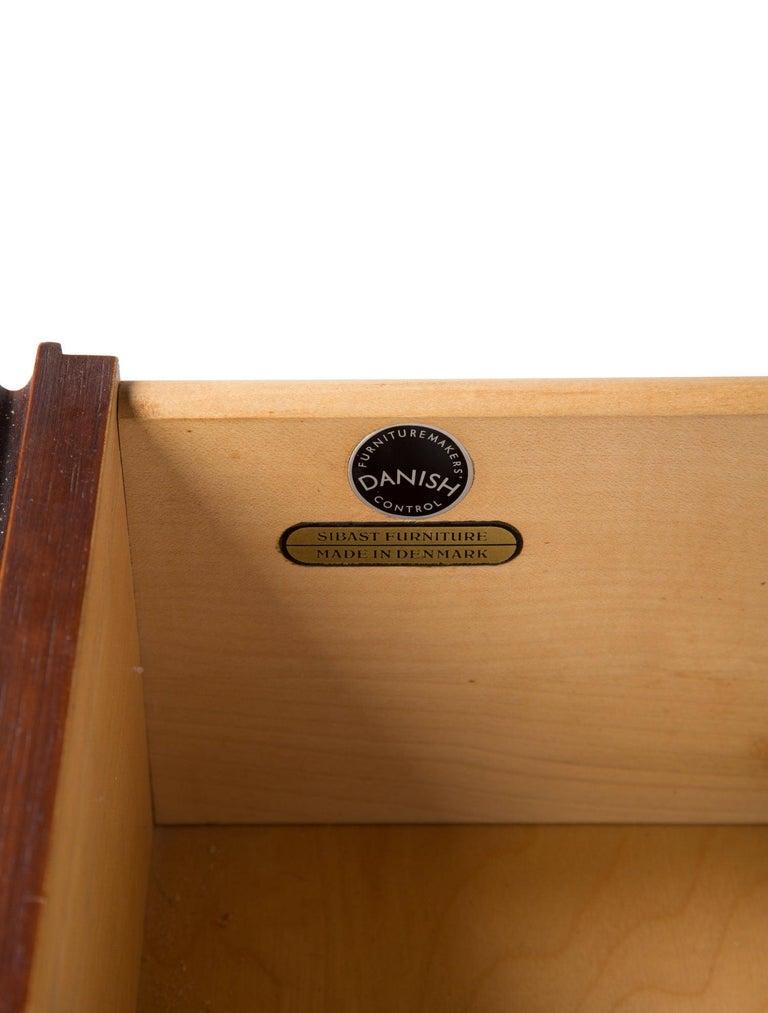 Arne Vodder Rosewood Dresser for Sibast Møbler For Sale 9