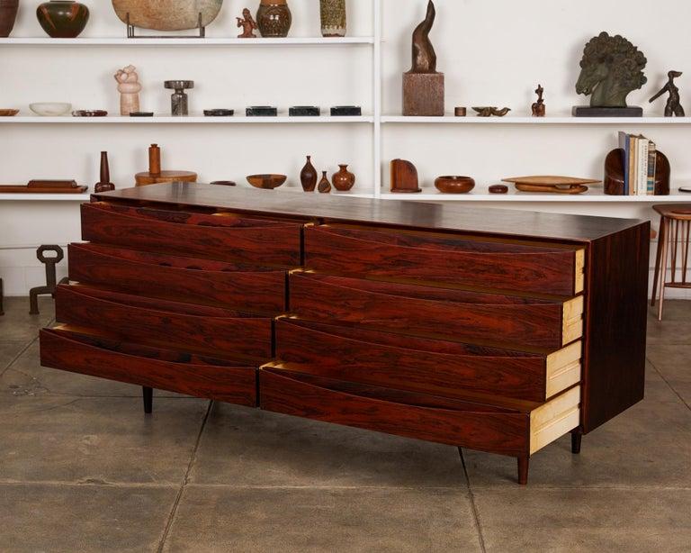Mid-Century Modern Arne Vodder Rosewood Dresser for Sibast Møbler For Sale
