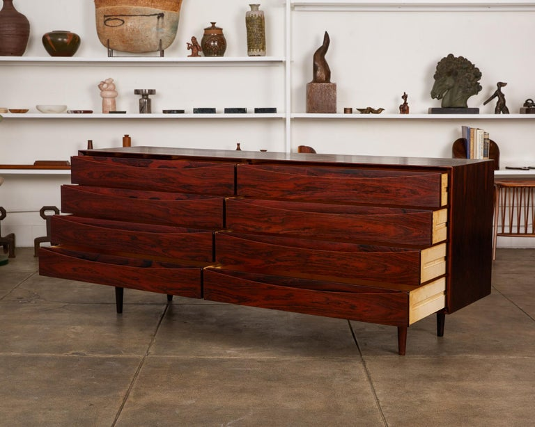 Danish Arne Vodder Rosewood Dresser for Sibast Møbler For Sale