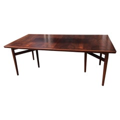 Arne Vodder Rosewood Extension Dining Table