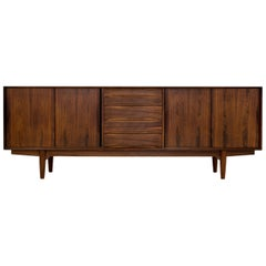 Arne Vodder Rosewood Sideboard, Danish Design from 1960s, Scandinavian Modern