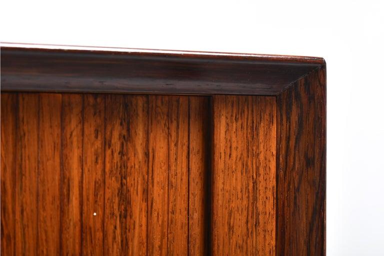 Arne Vodder Rosewood Tambour Doors Sideboard OS 63 for Sibast, Denmark, 1960 For Sale 8