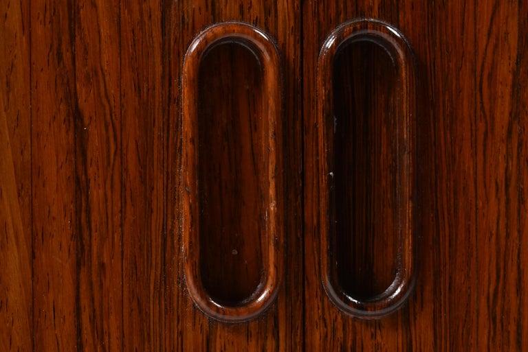 Arne Vodder Rosewood Tambour Doors Sideboard OS 63 for Sibast, Denmark, 1960 For Sale 11