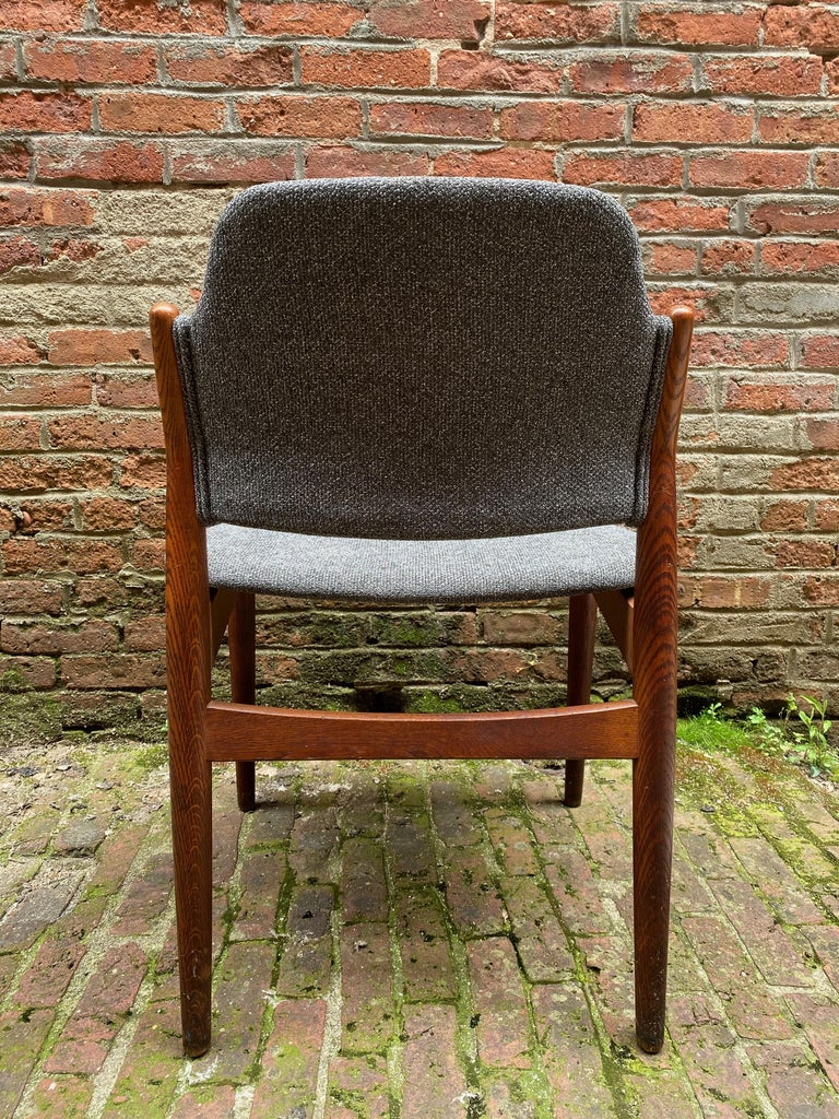 Arne Vodder Sibast Møbler Model 62 Oak Side Chair For Sale 1