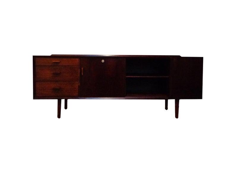 Scandinavian Modern Arne Vodder Sideboard by Sibast Møbler, 1950s For Sale