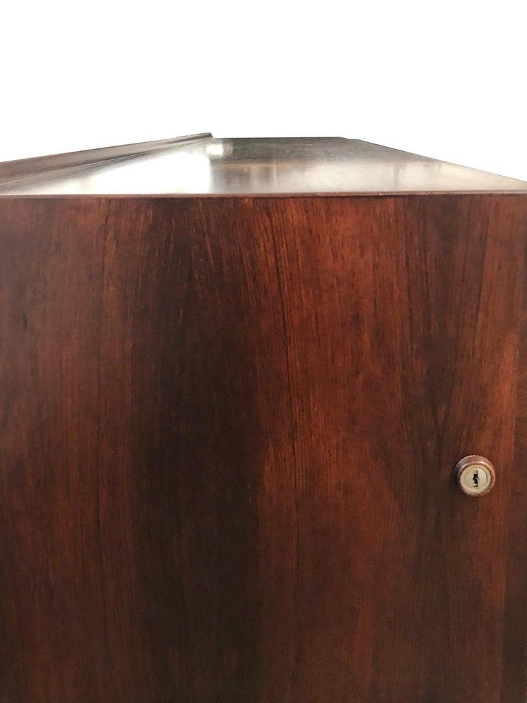 Rosewood Arne Vodder Sideboard by Sibast Møbler, 1950s For Sale