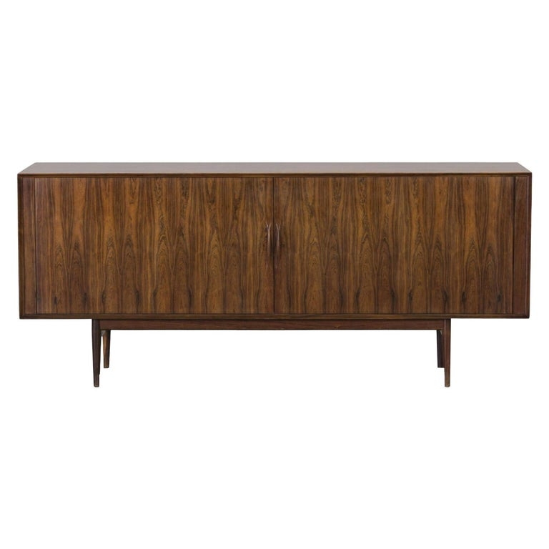 Arne Vodder, Sideboard Model 75, Sibast Møbelfabrik, Brazilian Rosewood For Sale
