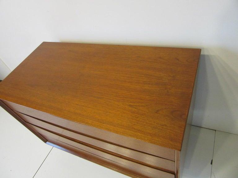 Teak Arne Vodder Small Dresser for Sibast, Denmark For Sale