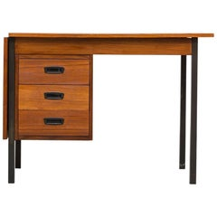 Arne Vodder Style Danish Teak Writing Desk