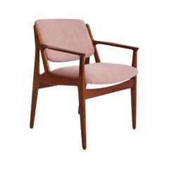 Arne Vodder Teak Chair, Model Ellen