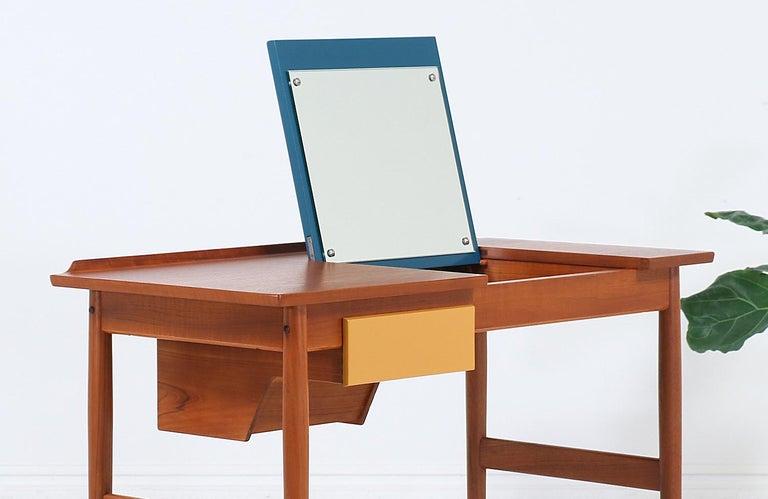 Arne Vodder Teak Vanity / Writing Desk for Sibast Møbler 3