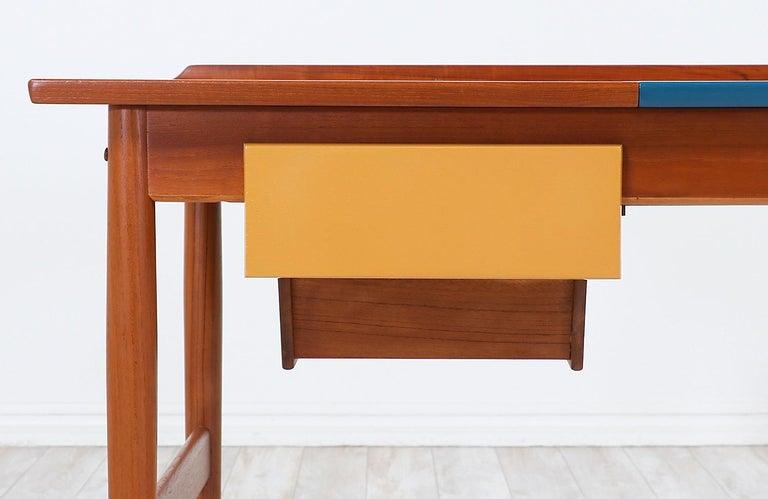 Arne Vodder Teak Vanity / Writing Desk for Sibast Møbler 6