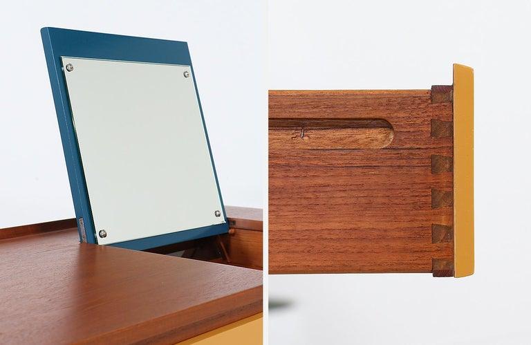 Arne Vodder Teak Vanity / Writing Desk for Sibast Møbler 8