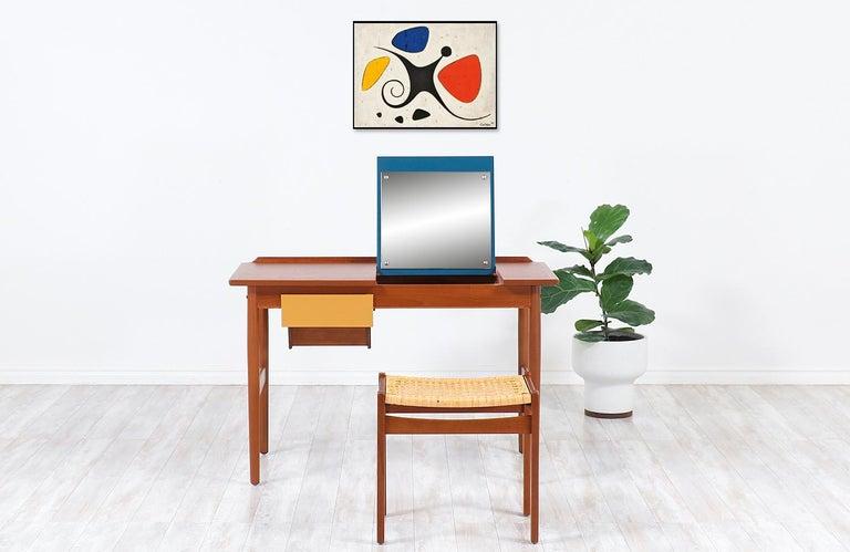 Mid-Century Modern Arne Vodder Teak Vanity / Writing Desk for Sibast Møbler