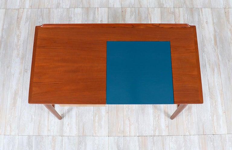 Mid-20th Century Arne Vodder Teak Vanity / Writing Desk for Sibast Møbler