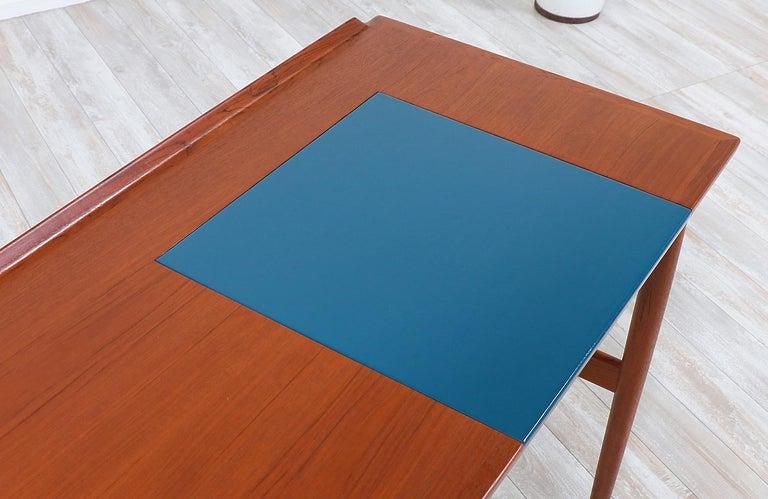 Wood Arne Vodder Teak Vanity / Writing Desk for Sibast Møbler