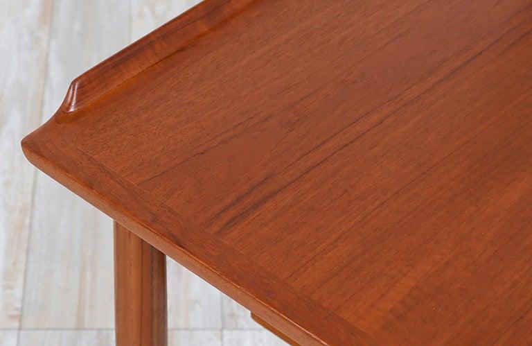 Arne Vodder Teak Vanity / Writing Desk for Sibast Møbler 2