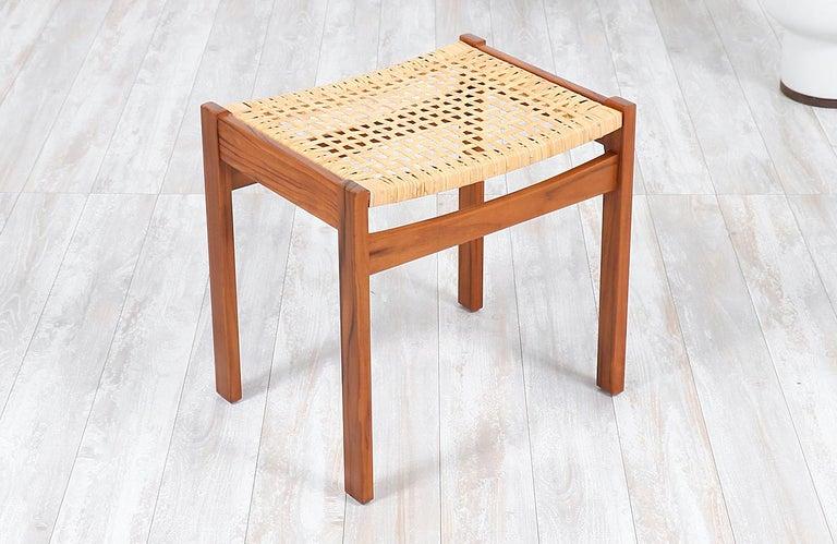 Arne Vodder Teak Wood Vanity / Writing Desk for Sibast Møbler 5