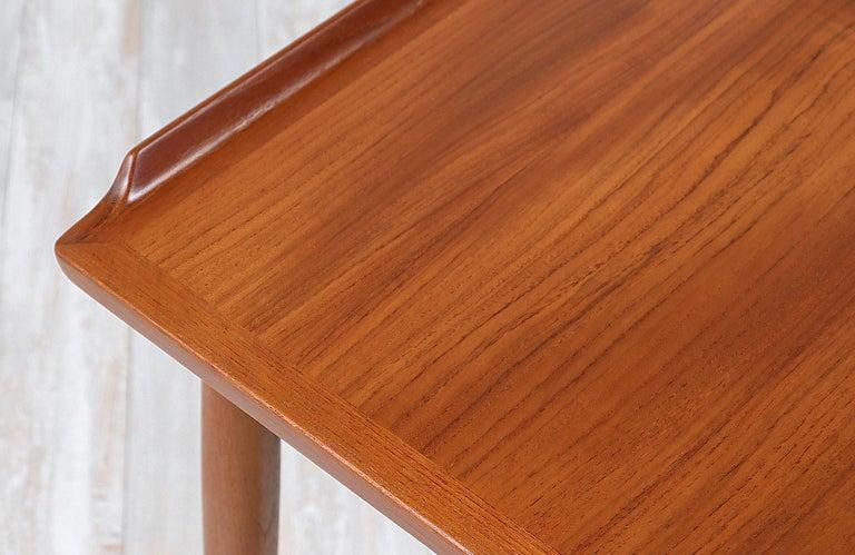 Arne Vodder Teak Wood Vanity / Writing Desk for Sibast Møbler 1