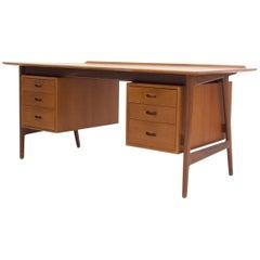 Arne Vodder Teak Writing Desk