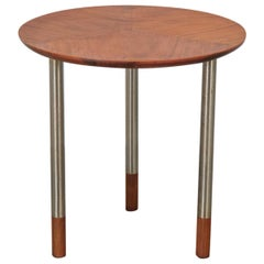 Arne Voder Style Round Side Table