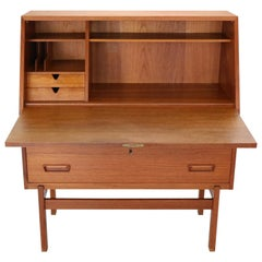 Arne Wahl Iversen Danish Secretary Desk Model-68 for Vinde Møbelfabrik, 1960s