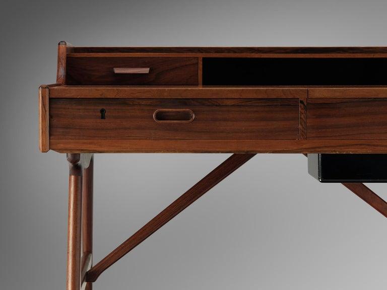 Arne Wahl Iversen Desk for Vinde Møbelfabrik In Good Condition For Sale In Waalwijk, NL