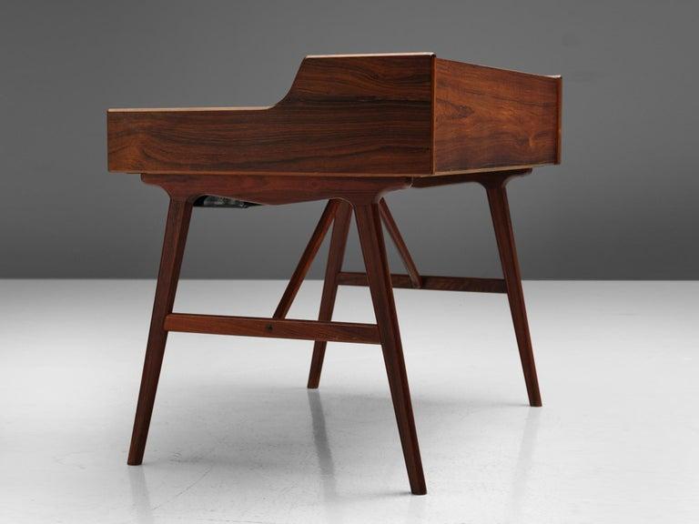 Rosewood Arne Wahl Iversen Desk for Vinde Møbelfabrik For Sale