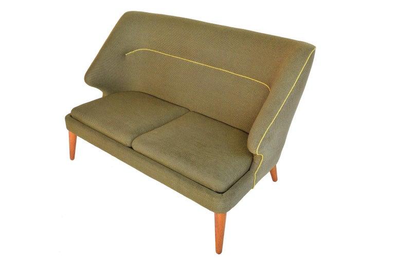 20th Century Arne Wahl Iversen Flamingo Model 15 Loveseat For Sale