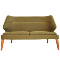 Arne Wahl Iversen Flamingo Model 15 Loveseat