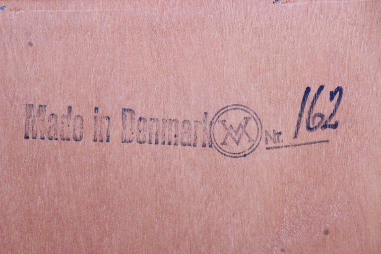 Arne Wahl Iversen for Vinde Møbelfabrik Danish Modern Rosewood Dresser Credenza For Sale 5