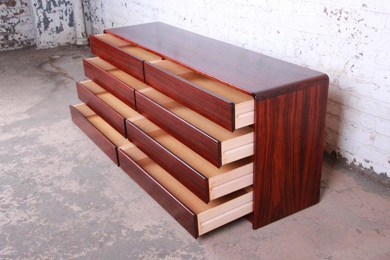 Arne Wahl Iversen for Vinde Møbelfabrik Danish Modern Rosewood Dresser Credenza For Sale 2