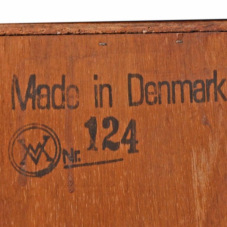 Late 20th Century Danish Rosewood Gentleman's Dresser, Arne Wahl Iversen for Vinde Møbelfabrik For Sale