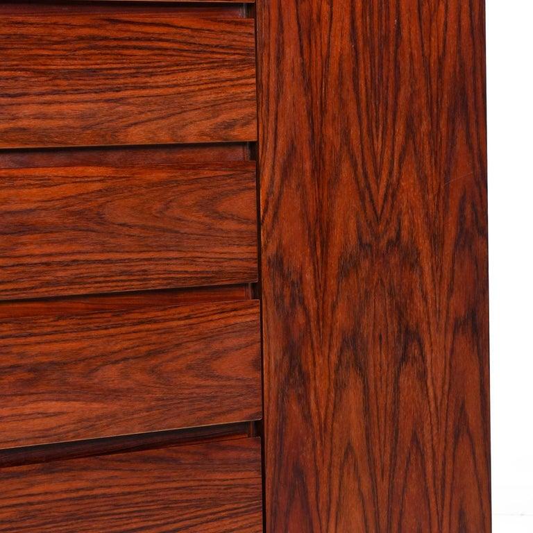 Danish Rosewood Gentleman's Dresser, Arne Wahl Iversen for Vinde Møbelfabrik For Sale 1