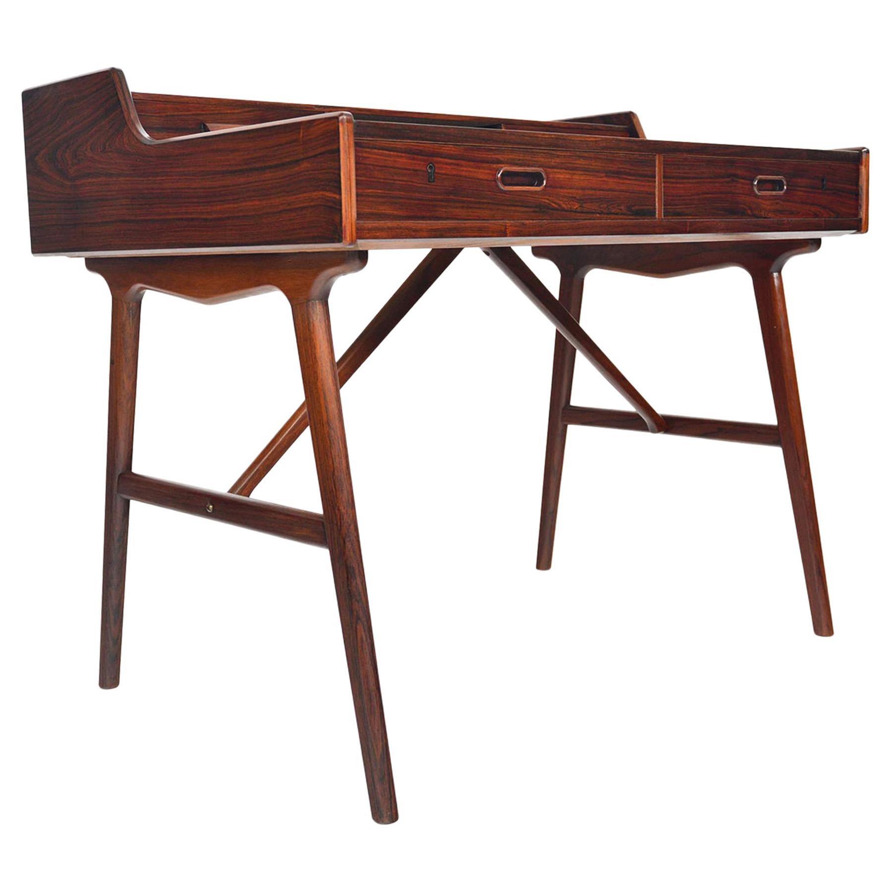 Arne Wahl Iversen Model 64 Desk in Rosewood