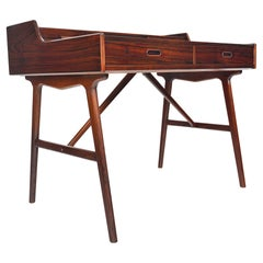 Arne Wahl Iversen Model 64 Desk in Rosewood