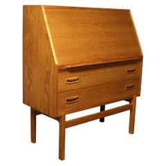 Arne Wahl Iversen Model 68 Teak Cabinet Desk